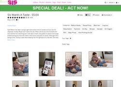 Bratty Sisの画像作品ページのスクリーンショット