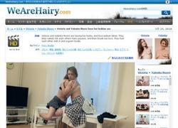 We Are Hairyの動画作品ページのスクリーンショット