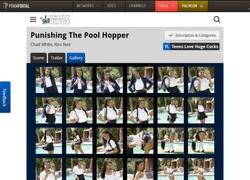 Teens Love Huge Cocksの画像作品ページのスクリーンショット