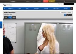 Big Tits Bossの動画作品ページのスクリーンショット