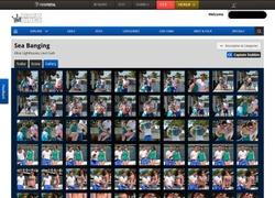 Captain Stabbinの画像作品ページのスクリーンショット