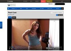Cum Girlsの動画作品ページのスクリーンショット