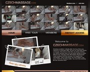 Czech Massageのバナー