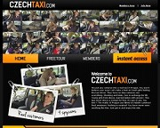 Czech Taxiのバナー