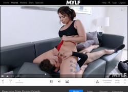 Mylfの動画作品ページのスクリーンショット
