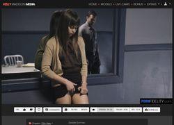 Porn Fidelityの動画作品ページのスクリーンショット