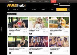 Fake Hubの会員ページのスクリーンショット