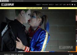 Dirty Cosplayの動画作品ページのスクリーンショット