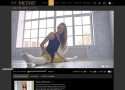 MetArtの動画作品ページのスクリーンショット