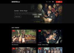 Horror Pornの会員ページのスクリーンショット